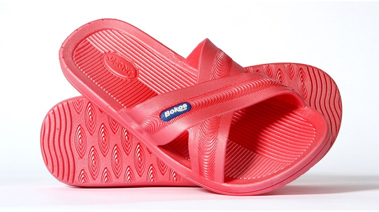 These one-piece-design sandals are made to last, easy to clean and just the thing for wearing around the pool, on a boat or at the beach. Constructed using nonporous rubber for an anti-slip security with just enough stickiness and the added virtue of eliminating foot odor, Bokos Sandals come in a variety of sizes and colors for men and women. An extra inducement: Bokos boast an ''interlock'' design, which means they can easily fit into an overnight bag or carryon.