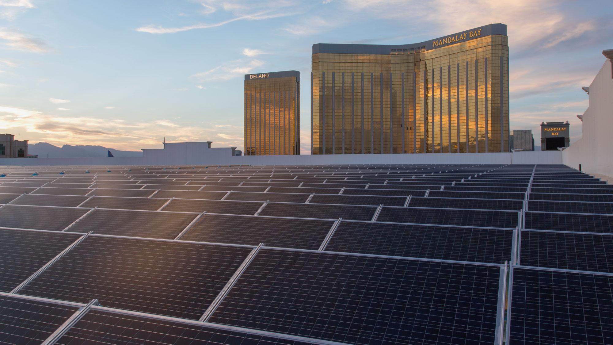 Mandalay Bay Completes Solar Project Travel Weekly