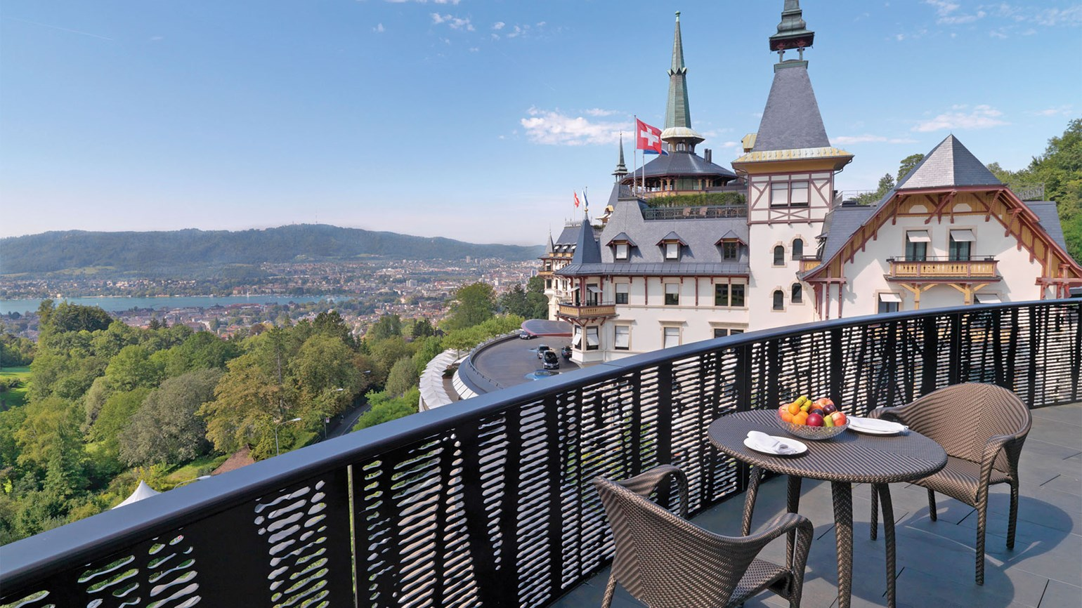 Dolder zurich luxe reborn travel weekly for Terrace zurich