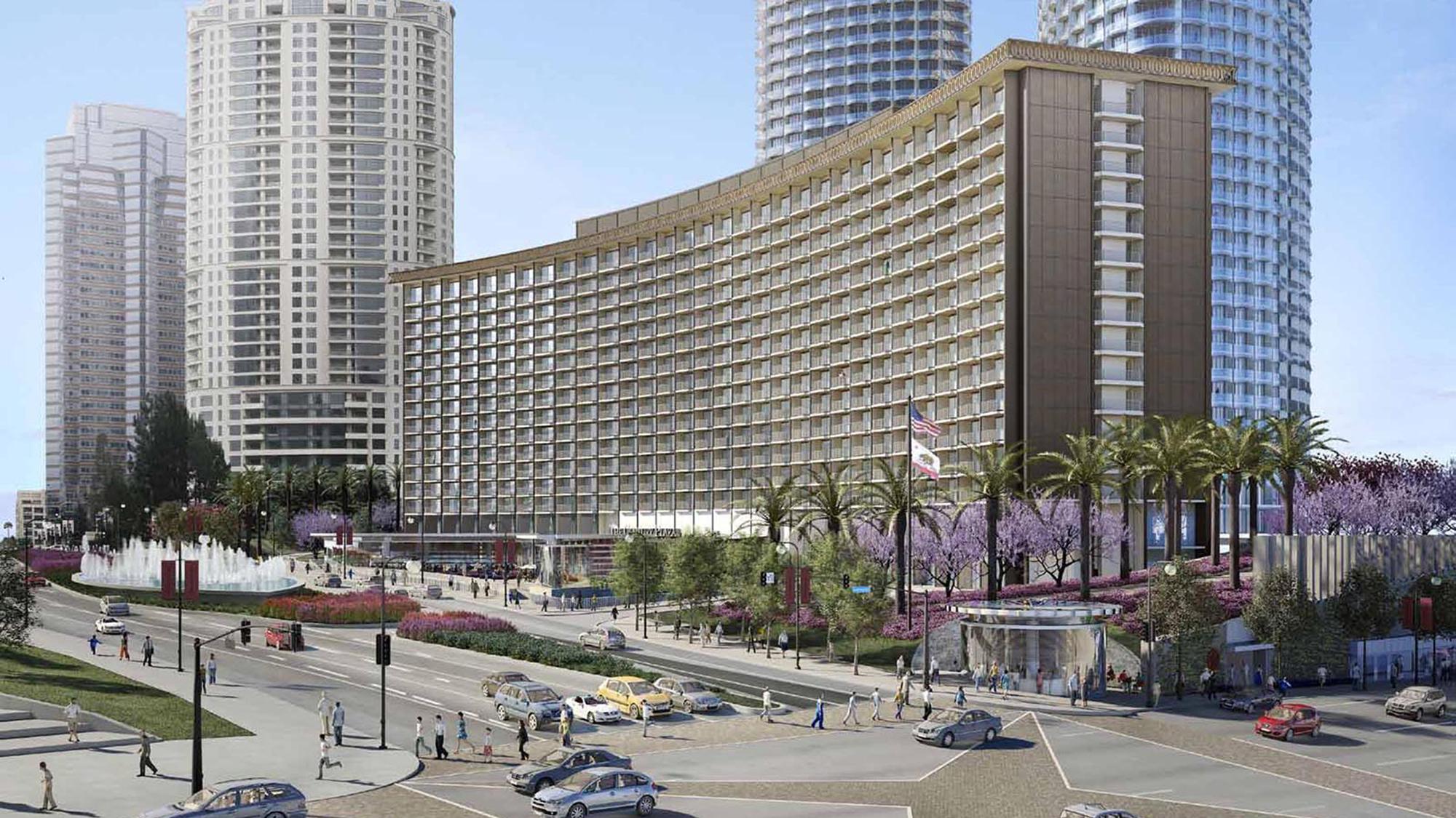 The Century Plaza Hotel Los Angeles