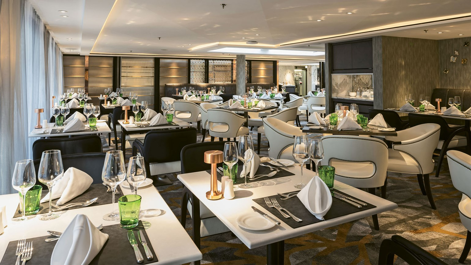 Crystal Mozart Dining Focuses On Freshness Travel Weekly