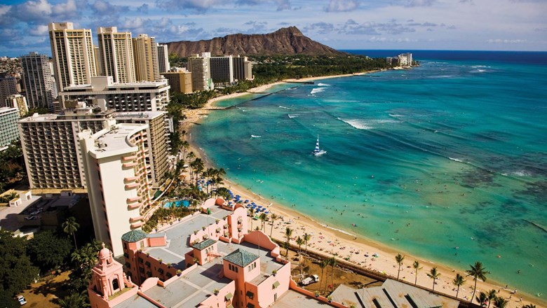 Several hotels as well as the International Market Place have been rebuilt on Oahu.