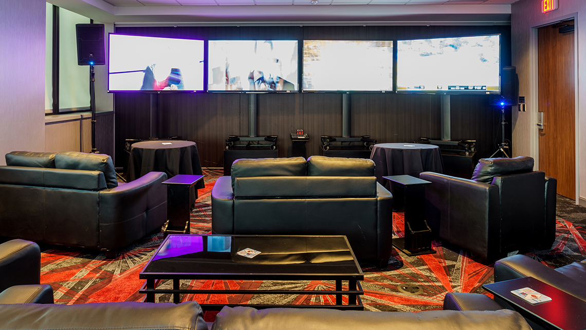 Man Cave Vegas : Fantasy leagues are coveted prospects for properties