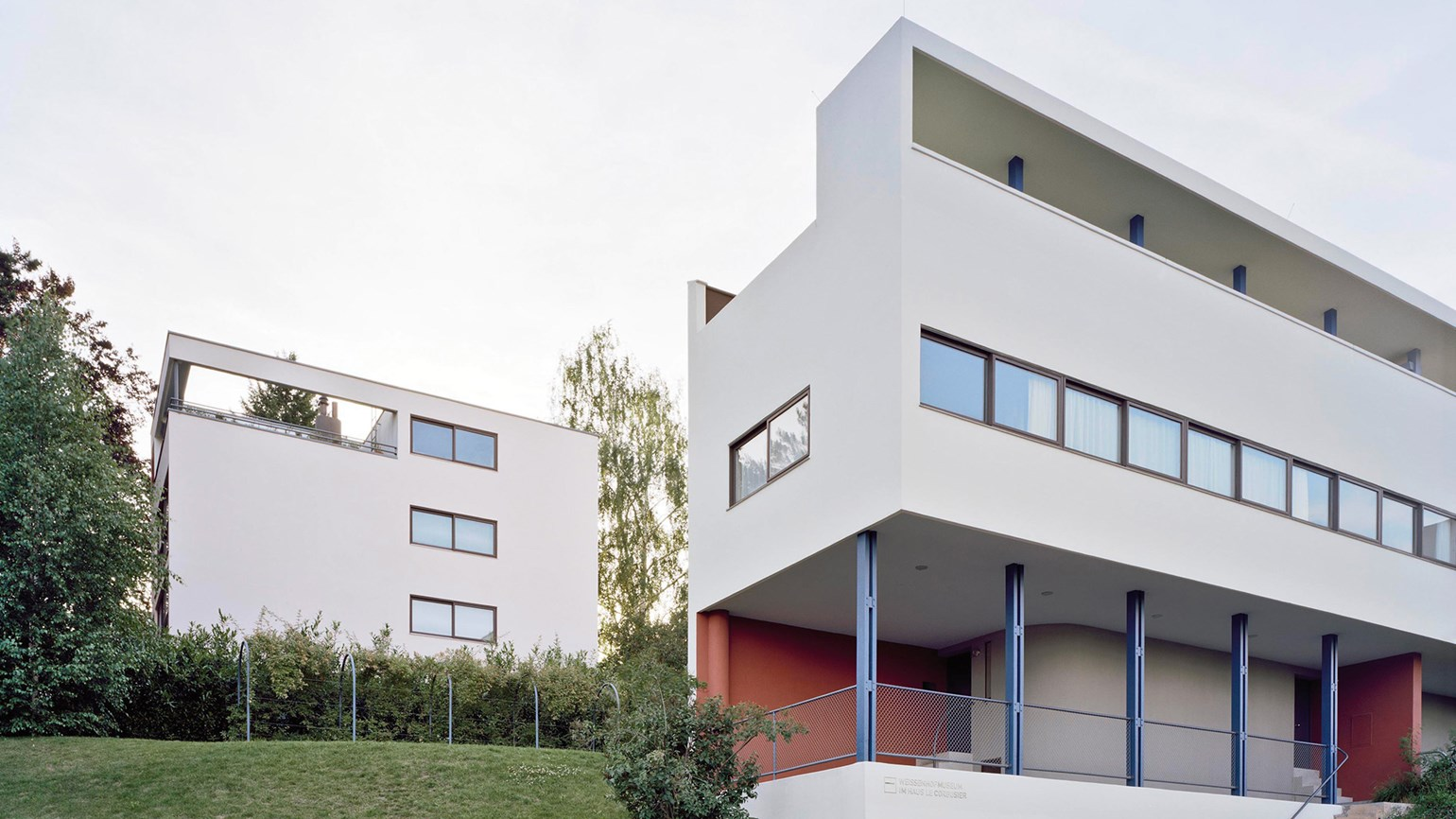 Le corbusier 39 s stuttgart houses added to germany 39 s unesco for Habitat stuttgart