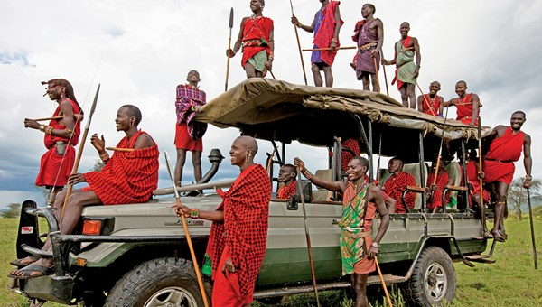 Luxurious yet based on sustainable practices, Cottar's 1920s Safari Camp partners with the resident Masai, respecting them as stewards of the land and embracing how they wish to represent themselves to visitors.