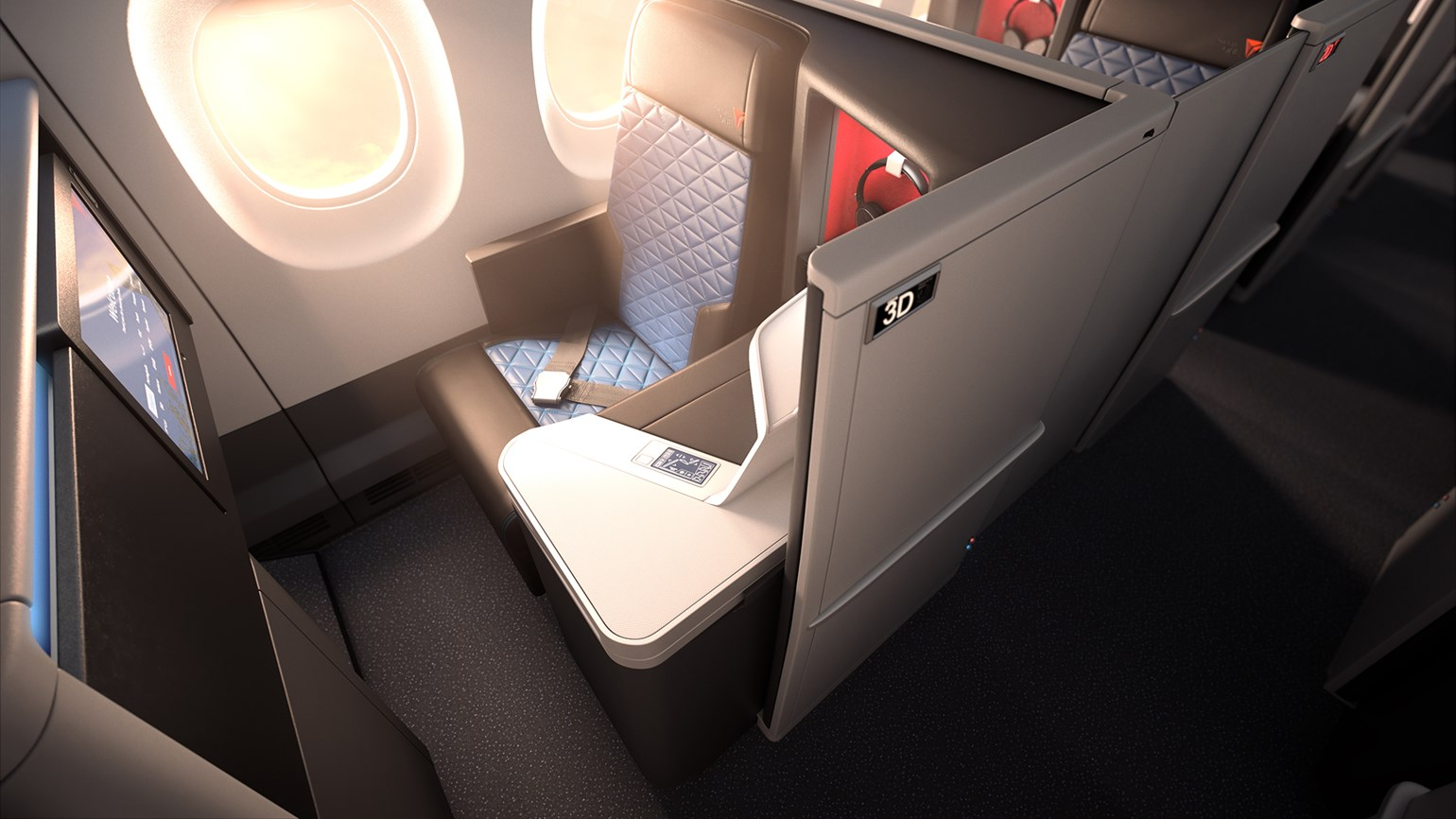 Delta installing lie-flat seats on more domestic routes