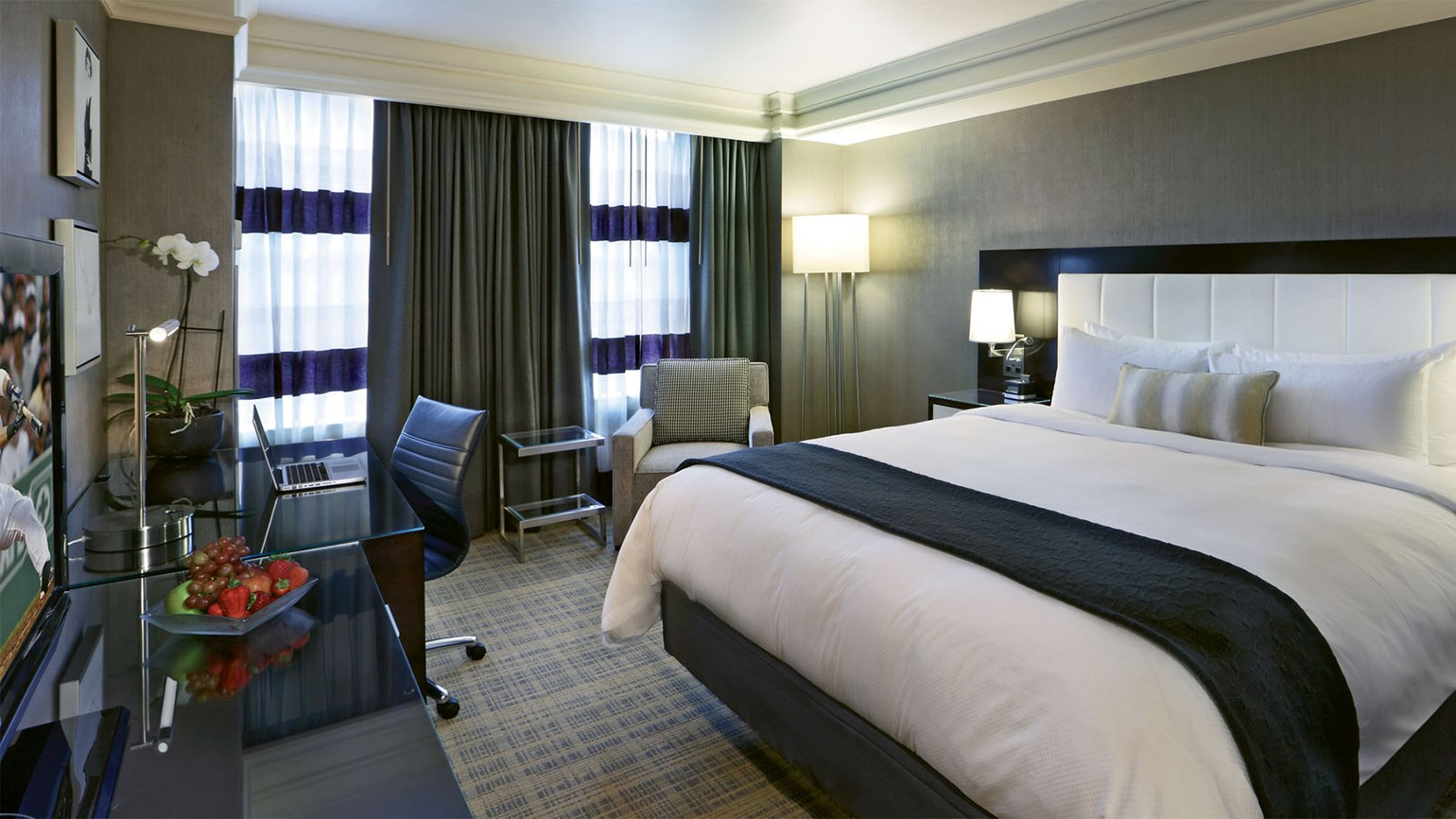 loews boston hotel 39 s 39 fall into foliage 39 embraces the. Black Bedroom Furniture Sets. Home Design Ideas