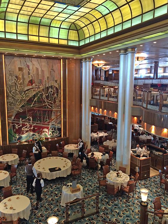The iconic Britannia restaurant looks very much the same despite an extensive refurbishment.