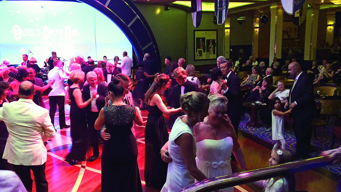 Qm2 A Voyage With Updated Elegance Travel Weekly