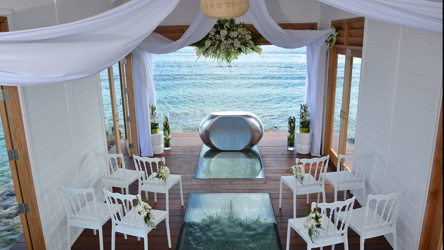 Sandals Constructs Overwater Chapel At St Lucia Resort