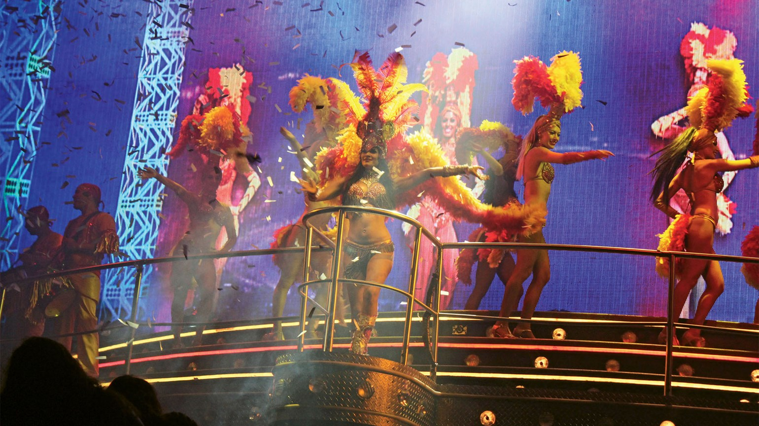 Embracing kitsch at Coco Bongo