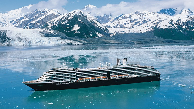 HAL said it is moving the Oosterdam to Alaska because of increased demand for cruises there.