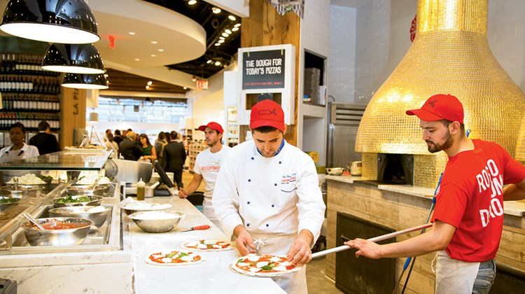 Eataly NYC Downtown, in 4 World Trade Center, opened in August 2016.