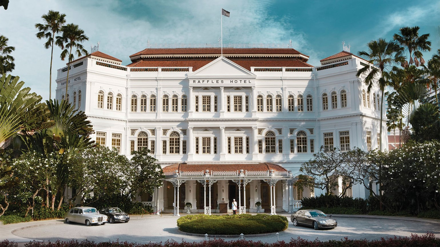 A twist of fate: Raffles is part of AccorHotels