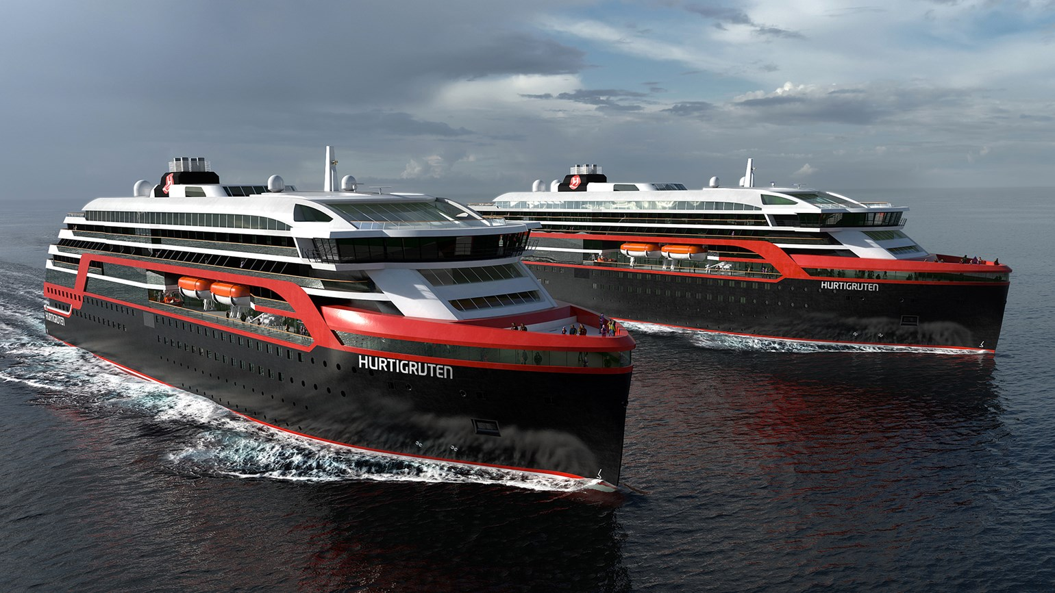 Hurtigruten names new expedition ships