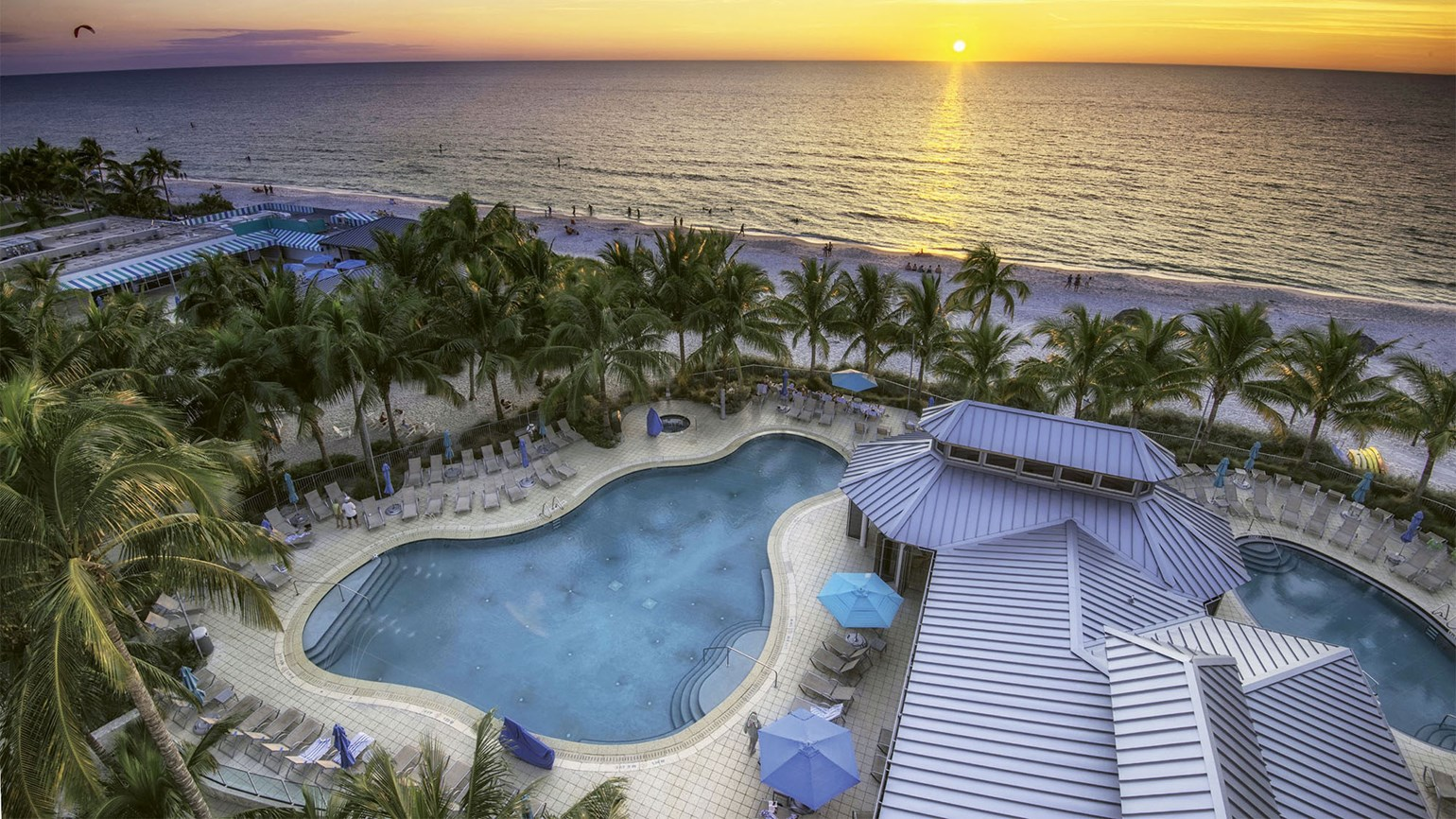 Naples Beach Hotel & Golf Club in Florida offers 20% off or free-night deal