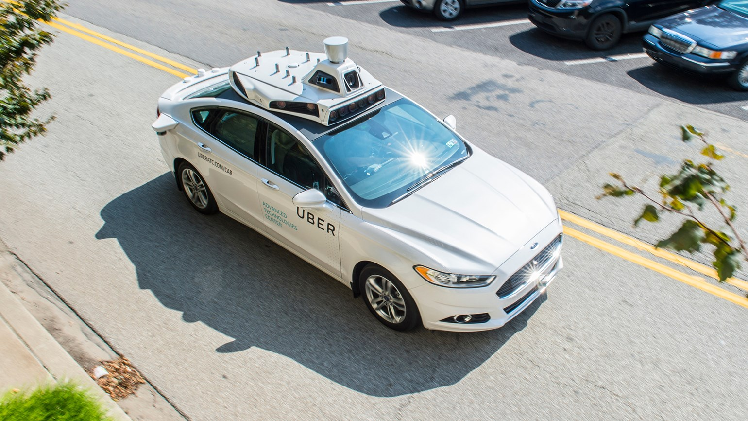 Self-driving Uber cars hit the road in Pittsburgh