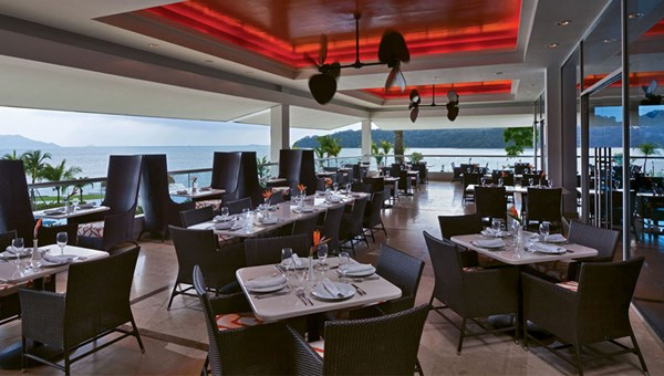 Restaurants at the Westin Playa Bonita include Pacifica, one of two buffet venues.