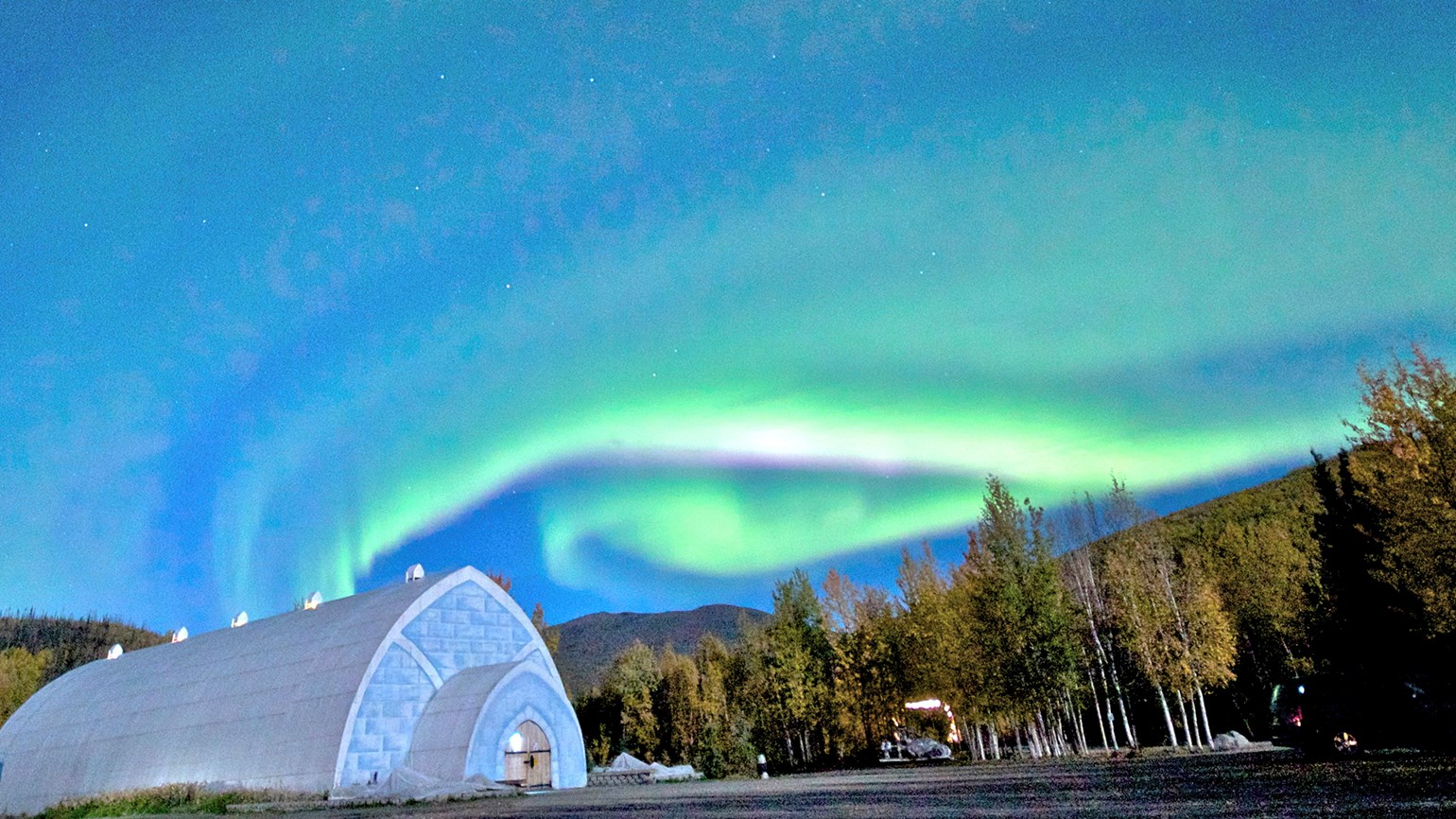 Northern lights, more at Chena Hot Springs