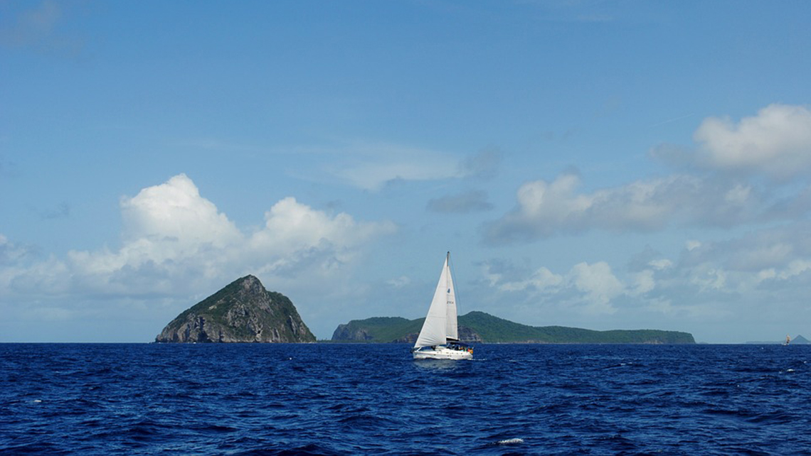 Photo Credit: Sailing is a popular activity for visitors to Grenada.