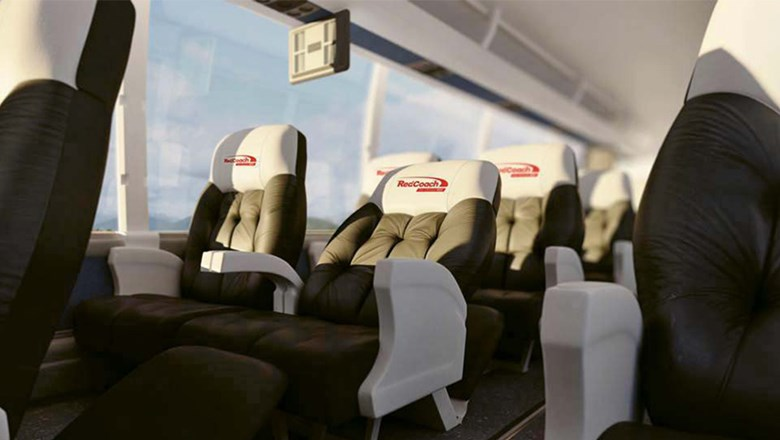 Passengers can spread out on the new RedCoach route between Fort Lauderdale and Tampa.