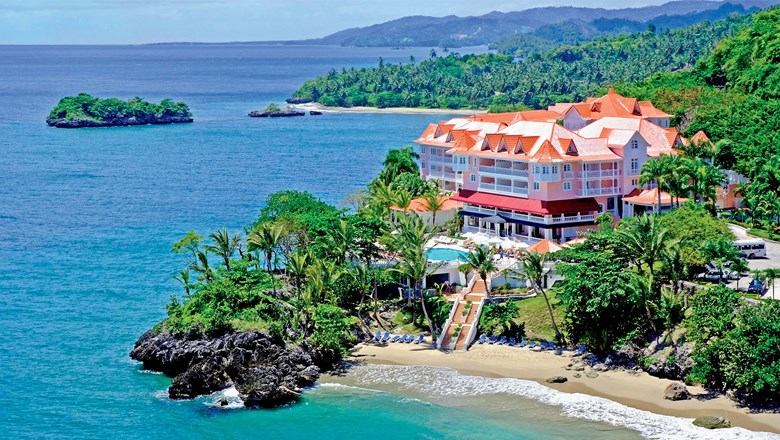 The adults-only Luxury Bahia Principe in Samana, Dominican Republic.