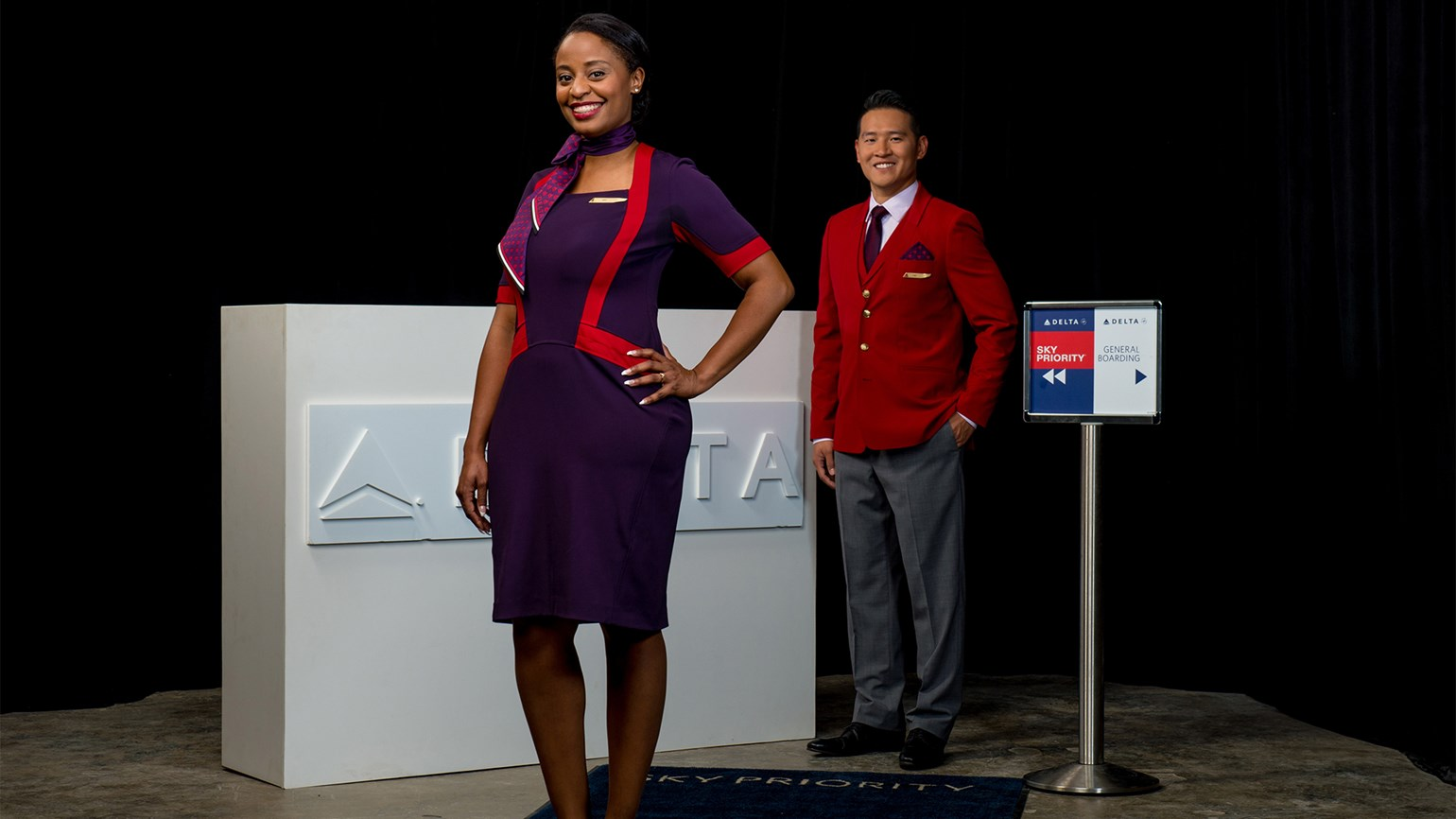 Delta employees getting new uniforms