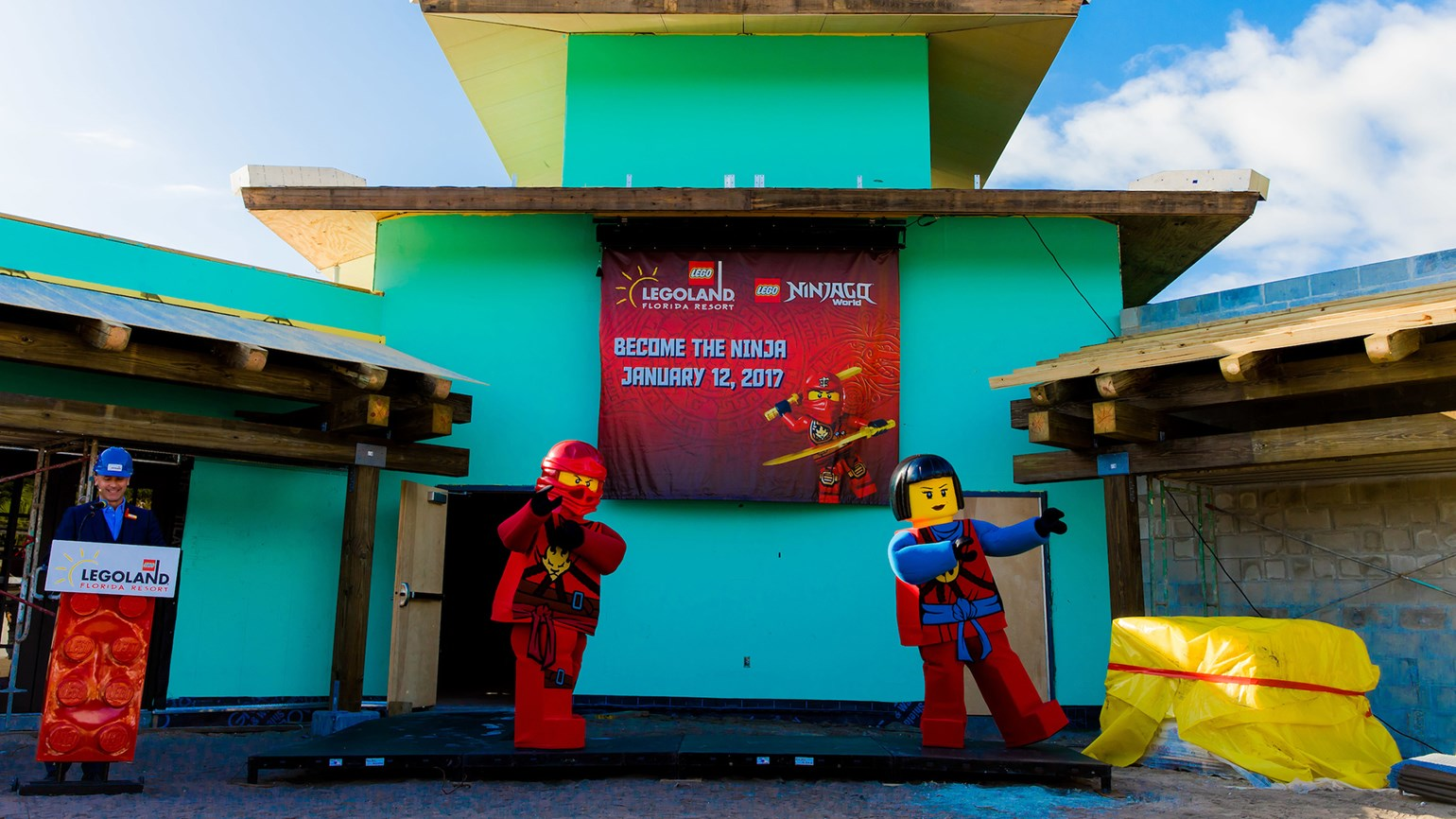 Ninjago World coming to Legoland Fla.