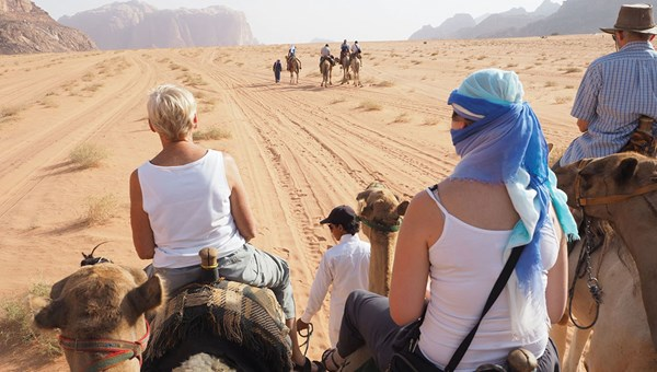 Even with animal rights organizations urging tour companies to stop selling wildlife tourist attractions, ShoreTrips.com reported that camel-ride excursion sales were up 200% for the year ending Sept. 30 compared with the same period the year before.