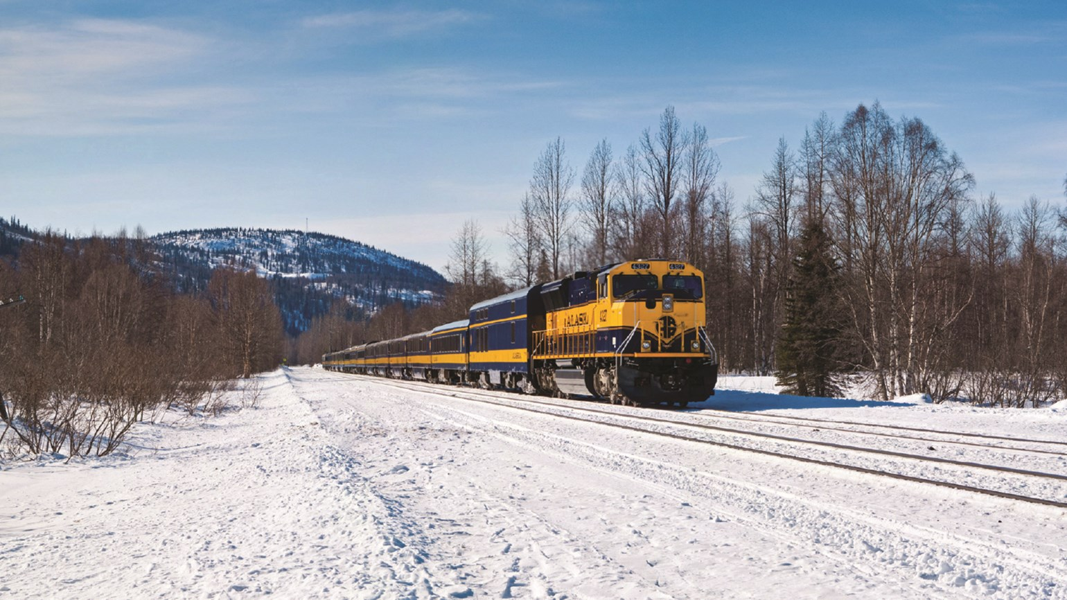 Alaska Railroad increasing winter service