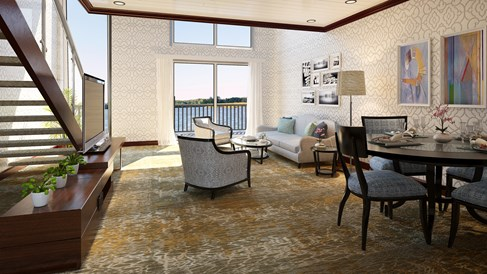 American Duchess paddlewheeler to feature loft suites