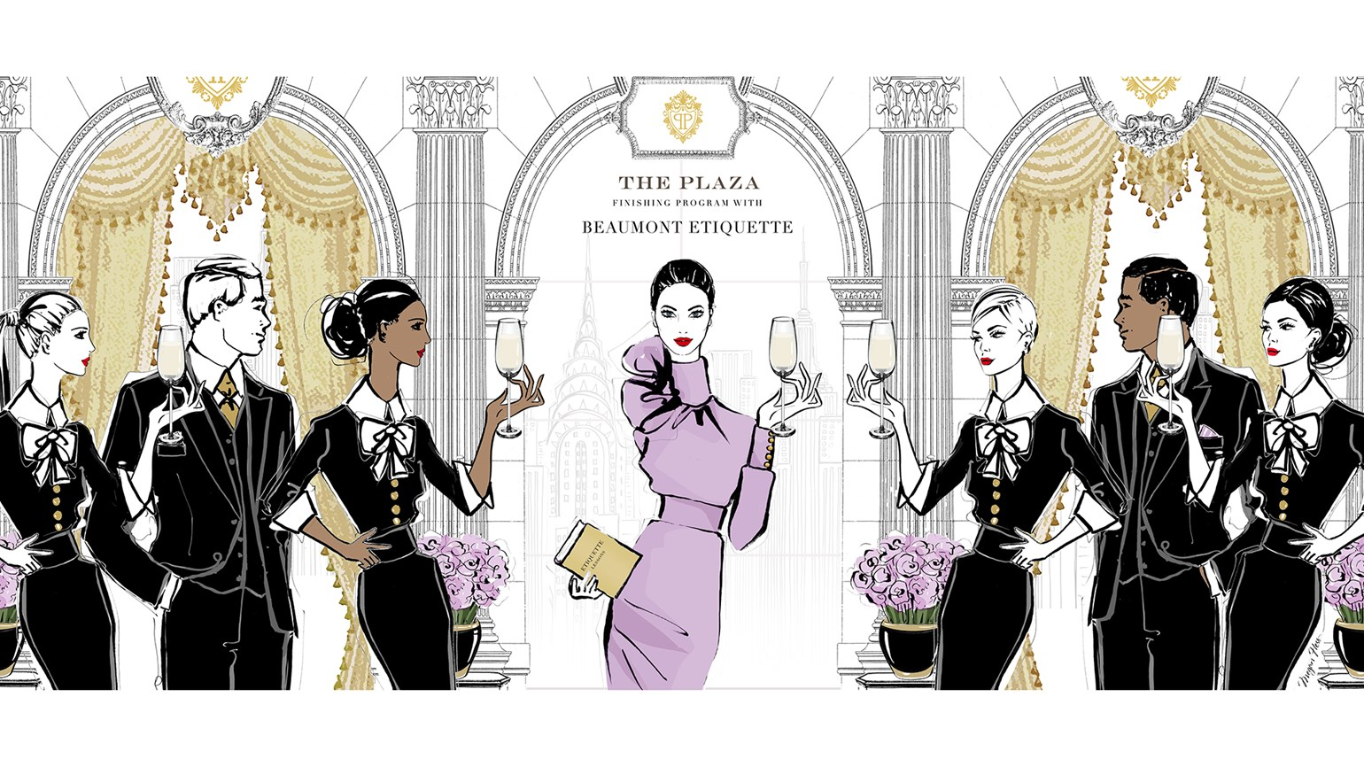 The Plaza New York offers etiquette classes