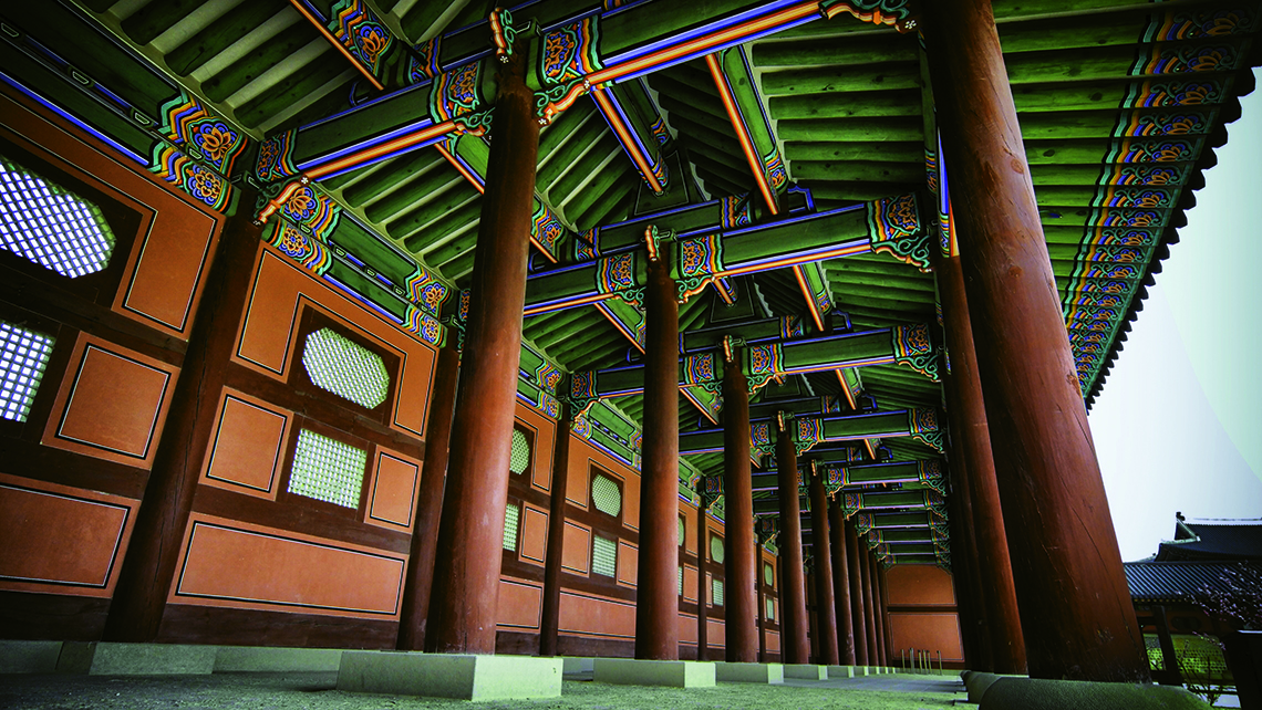 Seoul's Gyeongbokgung Palace. Photo Credit: Korea Tourism Organization