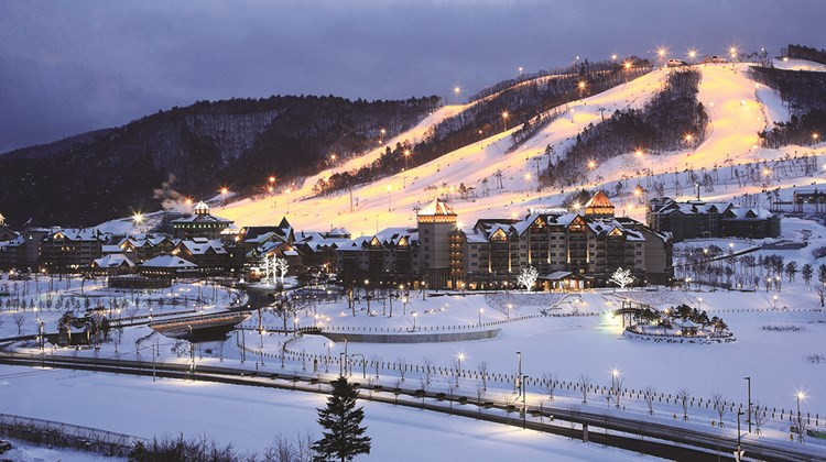 The Alpensia Resort will be the hub of activity for the 2018 Winter Olympics to be held in Pyeongchang.<br /><br /><strong>Photo Credit: Korea Tourism Organization</strong>