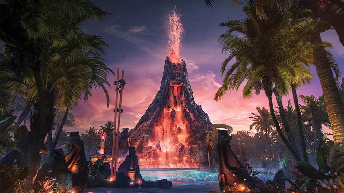 Tickets for Volcano Bay will go on sale Nov. 15.