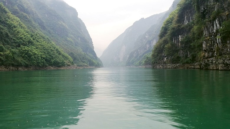Almost all 710 miles of the Wujiang River runs through Guizhou province.
