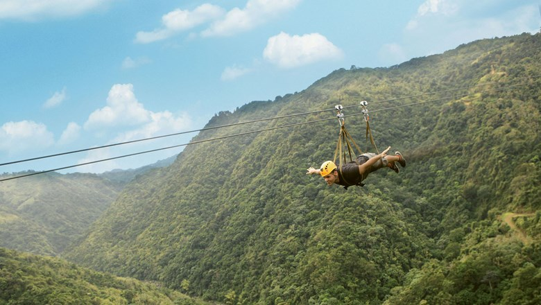 The Monster zipline at Toro Verde adventure park, at 1.57 miles long, has been certified as the world's longest by the Guinness Book of Records.