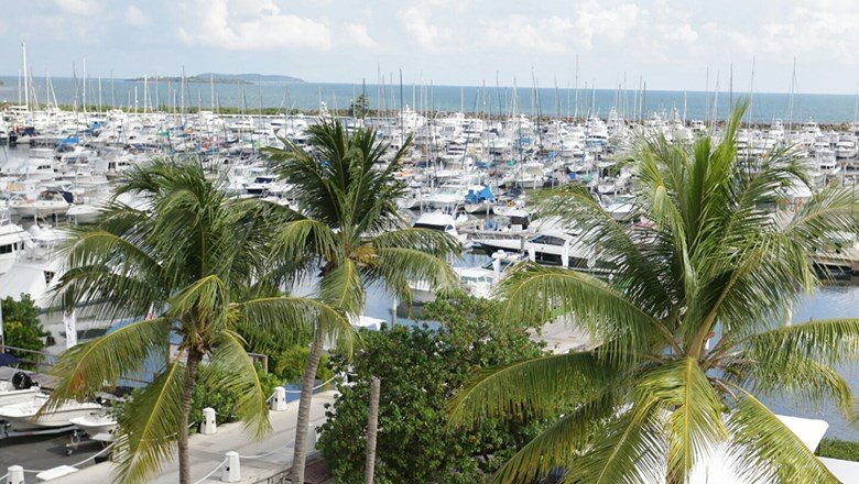 Puerto del Rey Marina in Fajardo is the first certified marina in Puerto Rico's Nautical Tourism program.