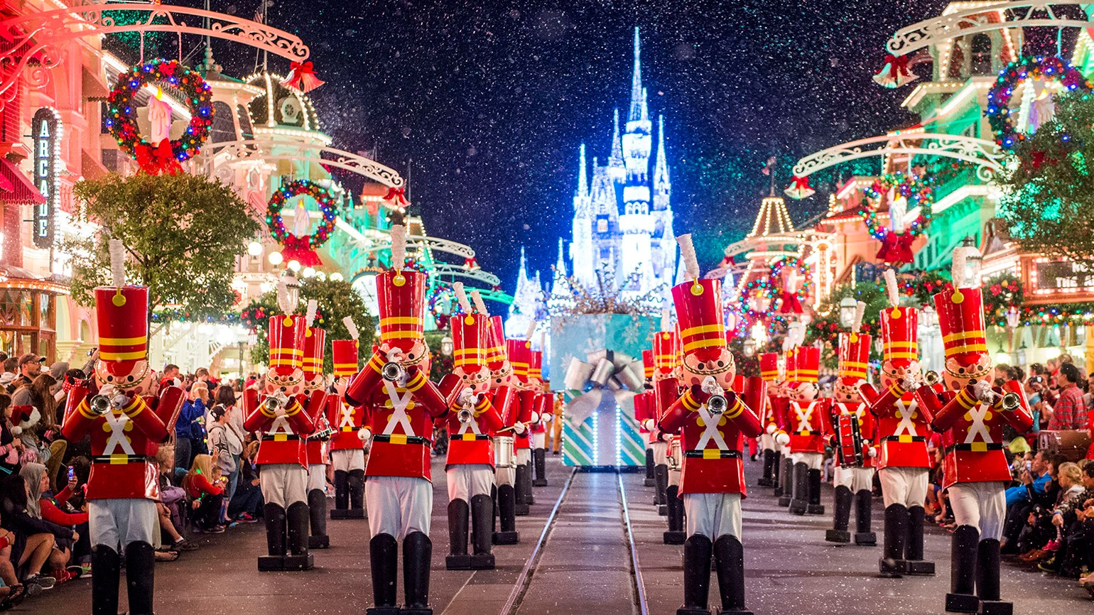 Holiday magic is everywhere in Orlando