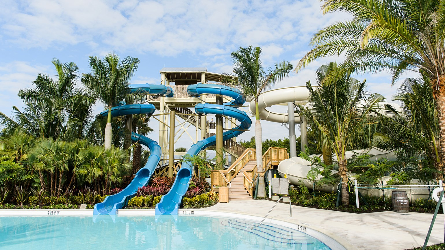 Waterpark opens at Hyatt Regency on Gulf coast
