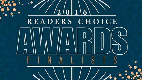 2016 Readers Choice Awards finalists