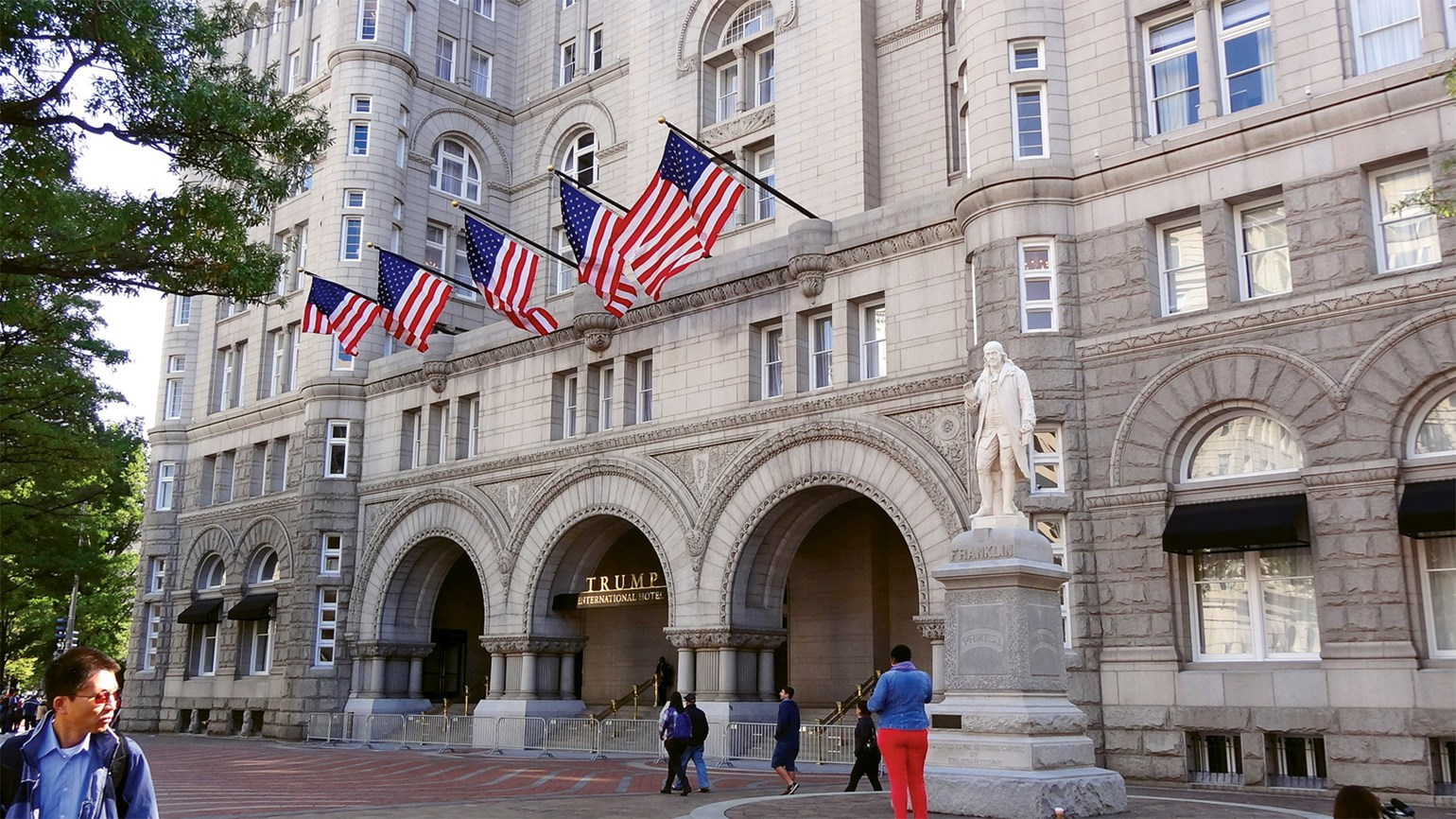 Trump might need to concede D.C. hotel before Inauguration Day