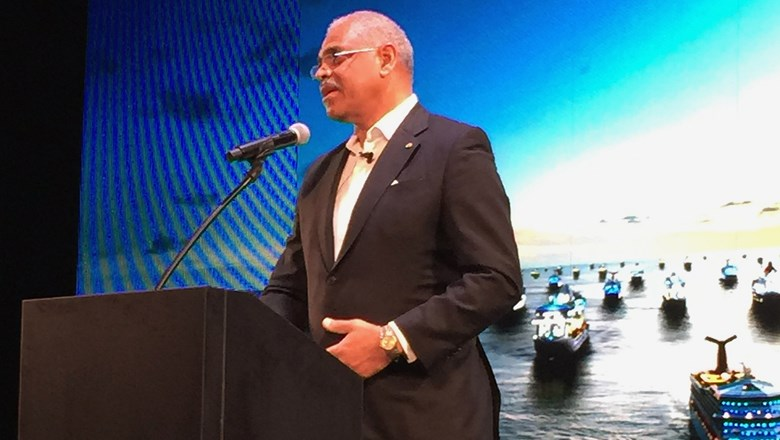 """The future is going to take a little time. Their call. You just have to put yourself in their shoes,"" Carnival Corp. CEO Arnold Donald said."