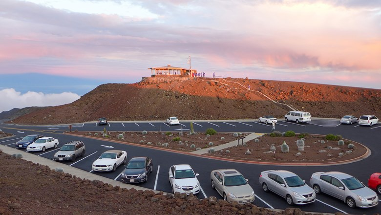 Starting Feb. 1, Haleakala National Park visitors entering between 3 a.m and 7 a.m. who want to access the mountain summit will have to reserve entry and pay $1.50 per vehicle.