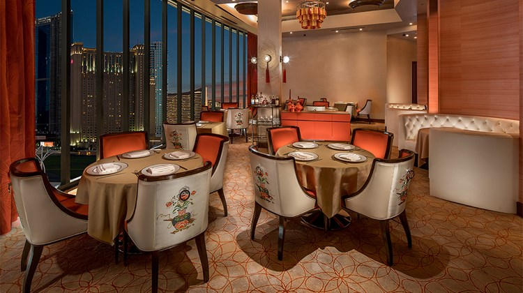 The Phoenix restaurant serves modern Chinese fare for dinner nightly.