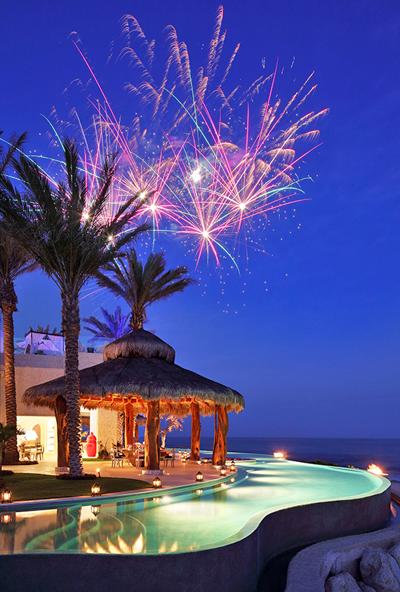 Guests simply launch the customized fireworks display at the push of a button.