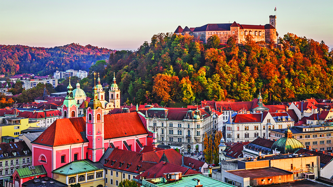 InterContinental Hotels will open a hotel in Ljubljana, Slovenia, in 2017. Photo Credit: Photo by Tomas Kulaja/Shutterstock