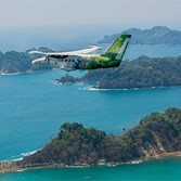 Complimentary flights within Costa Rica