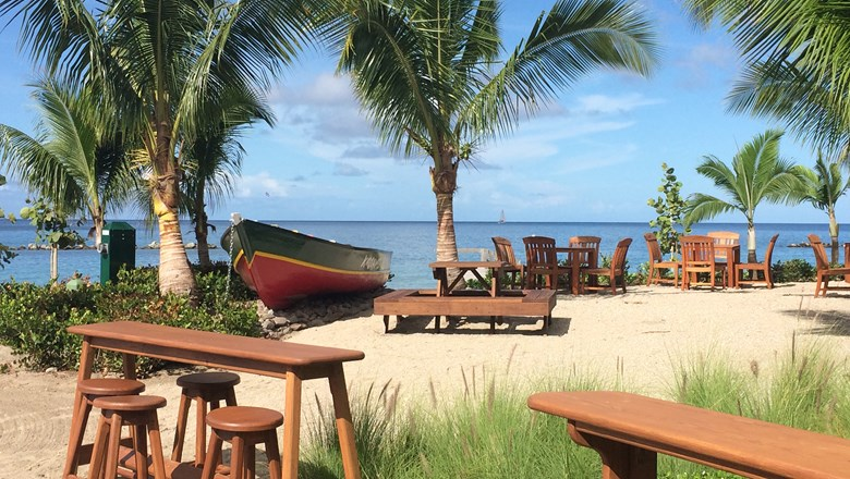 The Four Season Resort Nevis opened its Kastawey Beach Bar in time for the winter season.