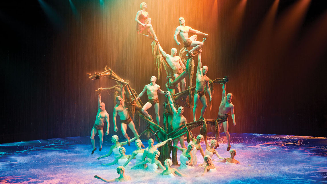 """Le Reve — The Dream"" at the Wynn was enhanced with its new Denouement act. Photo Credit: Tomasz Rossa"